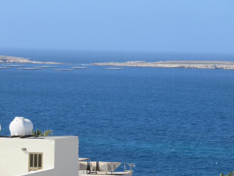 Seaview from balcony