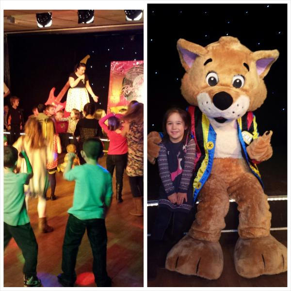 Children enjoying the on site childrens evening entertainment (March- Oct 31st only)