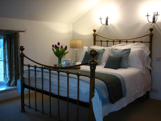 Relax in comfort with luxury White Company bed linen and wake up to spectacular views
