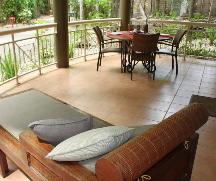 Your own private verandah to relax on