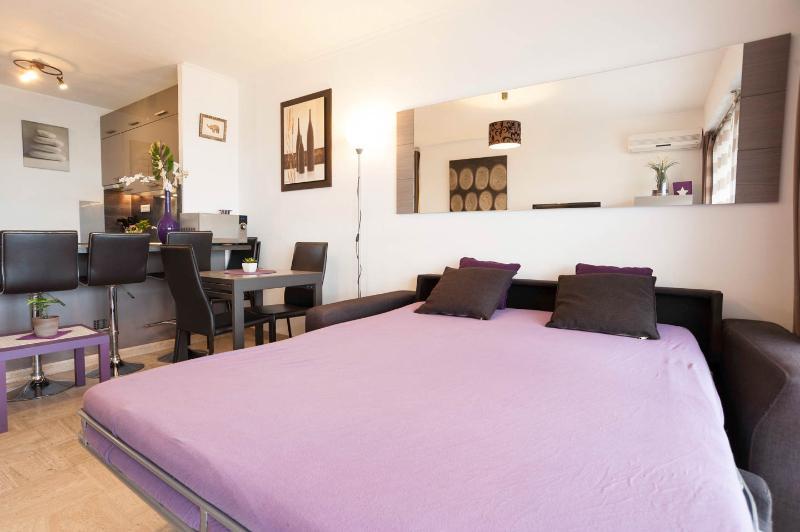 Canapé-lit du séjour