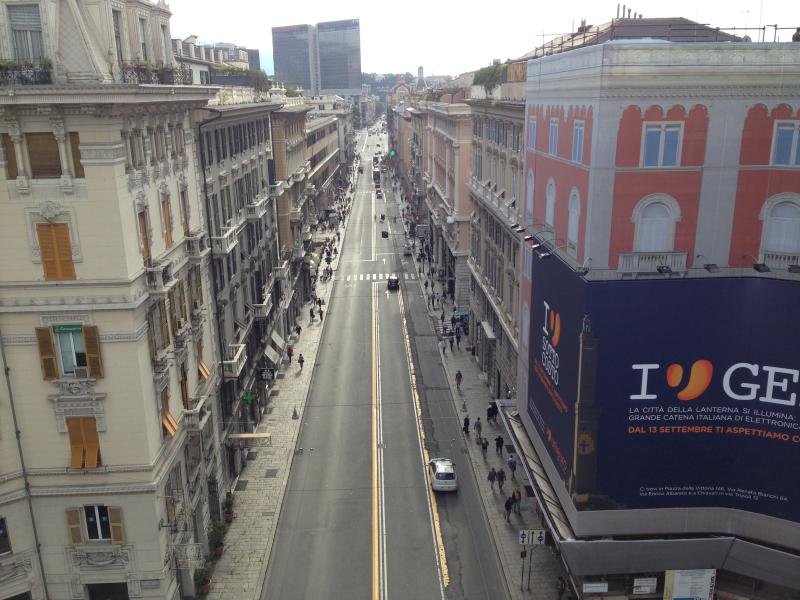 Vista de la calle (alta vista)