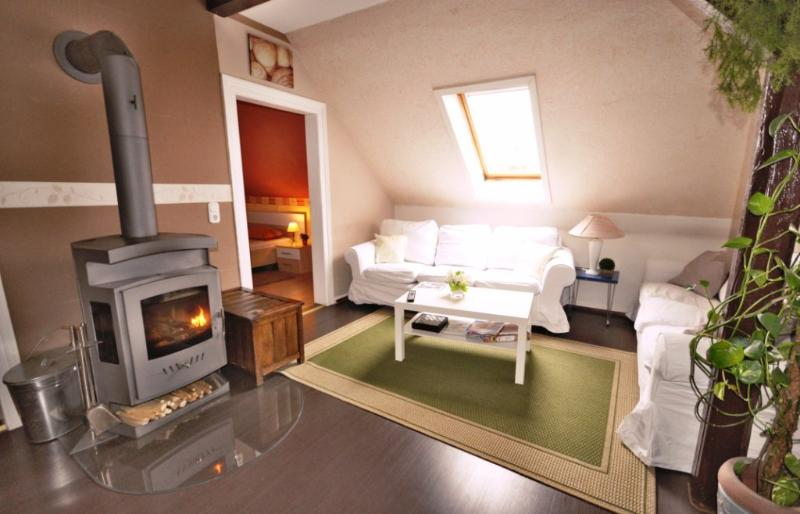 Cosy fireplace for romanticos