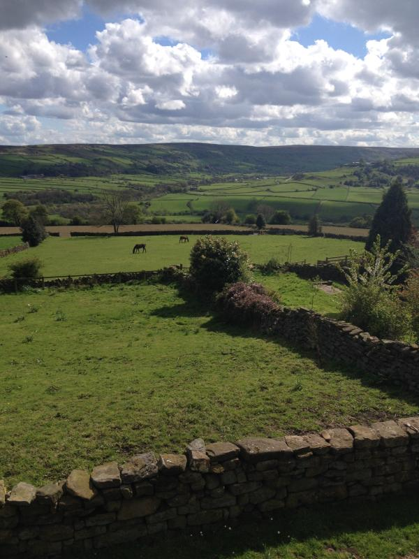 This view is amazing , over looking Fryup Dale