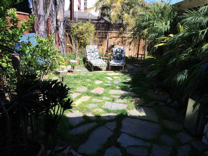 Jardin privé parfait pour bronzer.