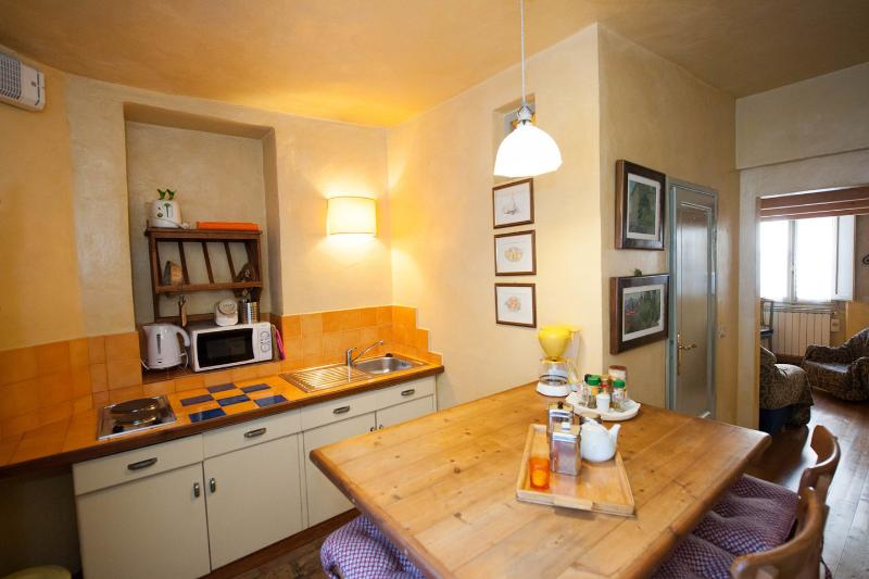 Del Bologna - Quiet penthouse with sleeping loft, vacation rental in Florence