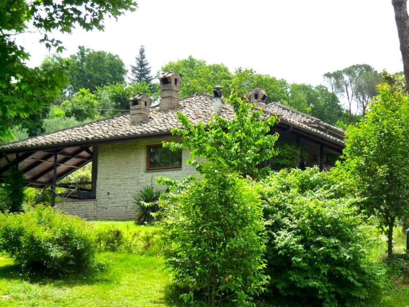 Villa Flavia's green heart