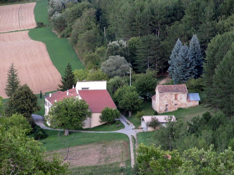 View of the property from the neighbouring ill