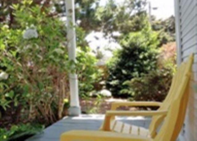Porch Garden Setting