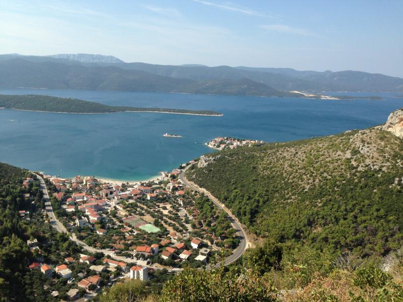 The panorama of Klek