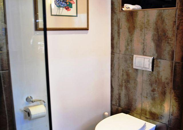 Freshly Remodeled Full Bath With Walk in Shower