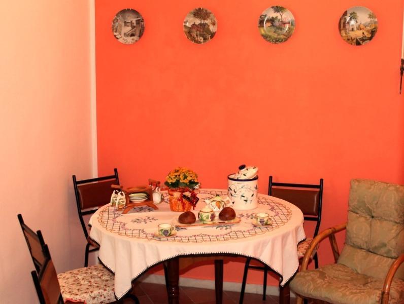 sala da pranzo allegra e conviviale per assaporare le prelibatezze salentine offerte come Benvenuto!