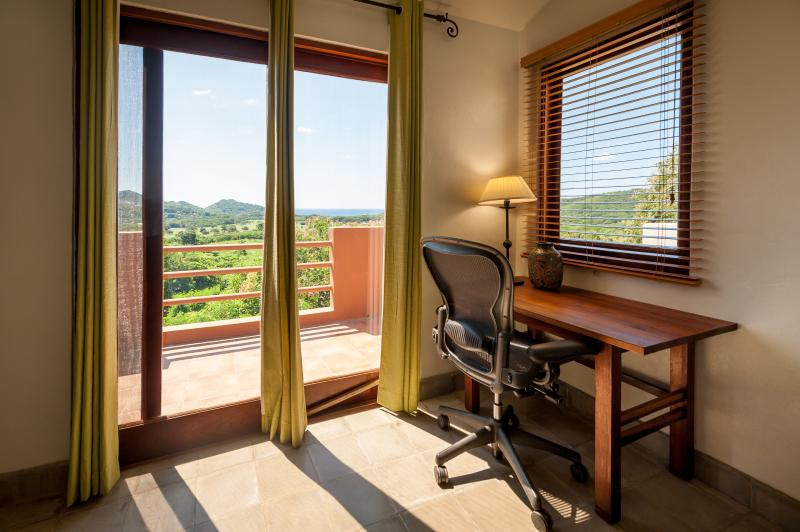 Need to work while away?  We make it easy with views like this and wifi!