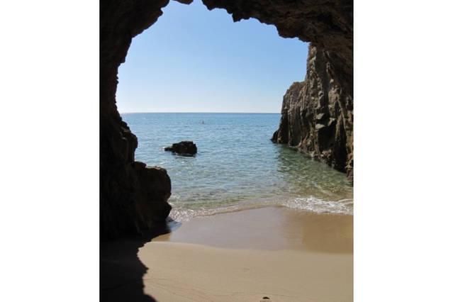 A cave ...