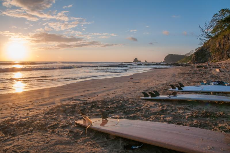 Our onsite staff can assist with arranging surf lessons- At Maderas Beach