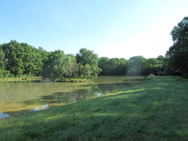 les étangs; une partie de pêche ? c'est possible :)