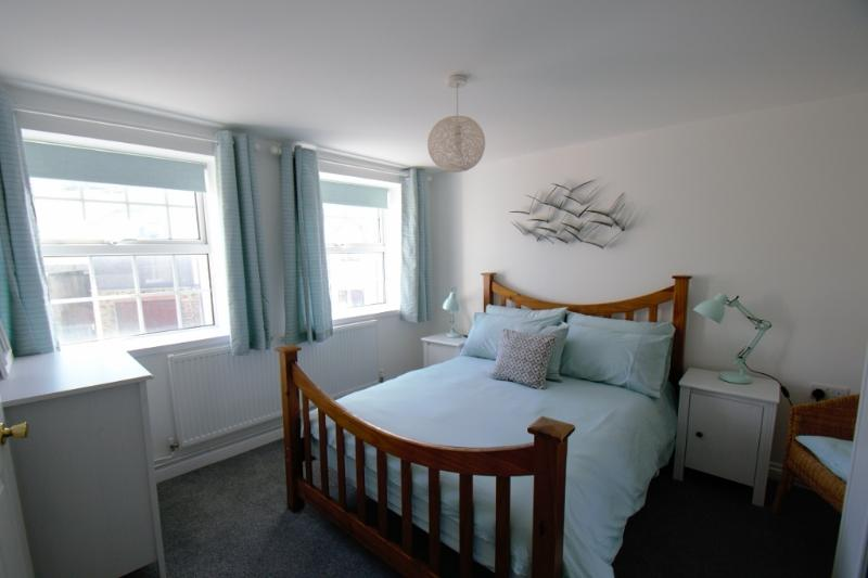 The newly refurbished and decorated master bedroom with en-suite