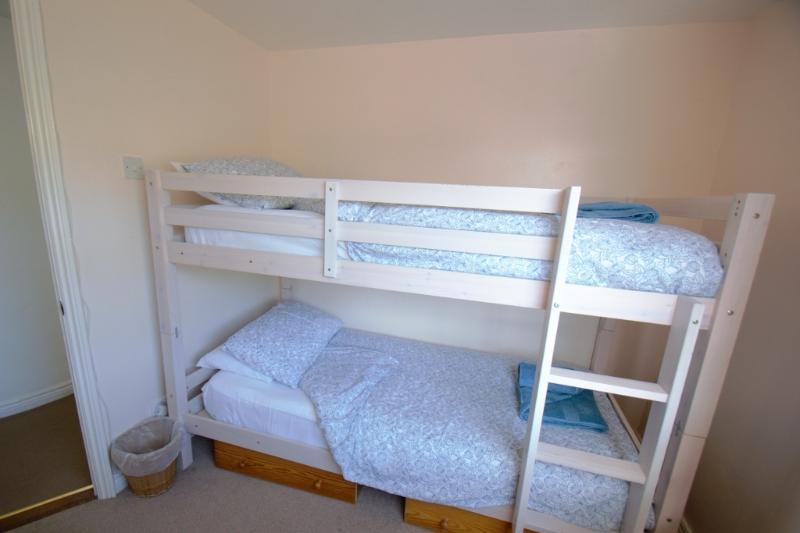 The childrens bunk bedroom