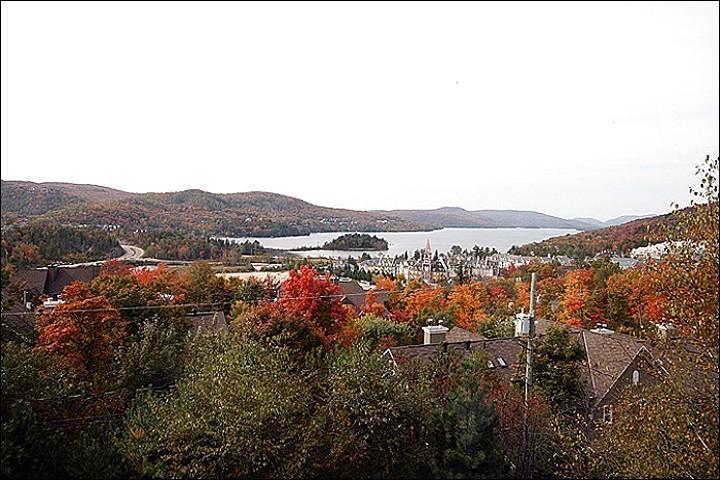 Vista del paisaje en otoño