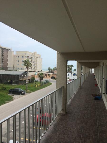 View from front door of condo