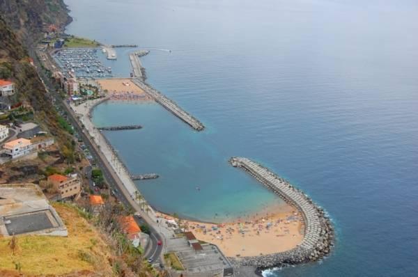 Calheta beach ( 5 min by car )