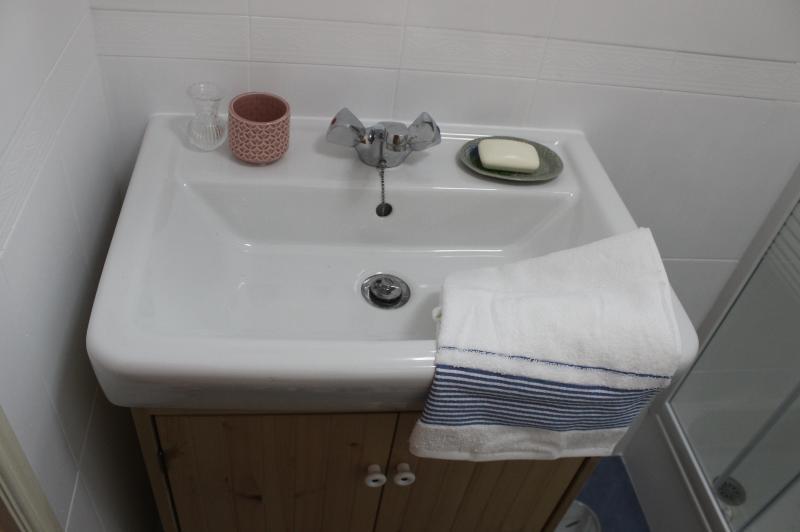 Détail de la salle de bain