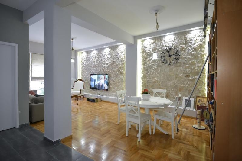 Living & Dining room, open space area.