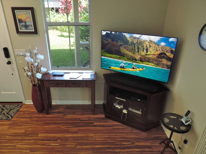 Living room entertainment.