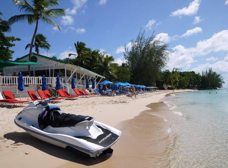 Mullins Beach Bar- watersports, swimming- good food, drinks and night time entertainment.