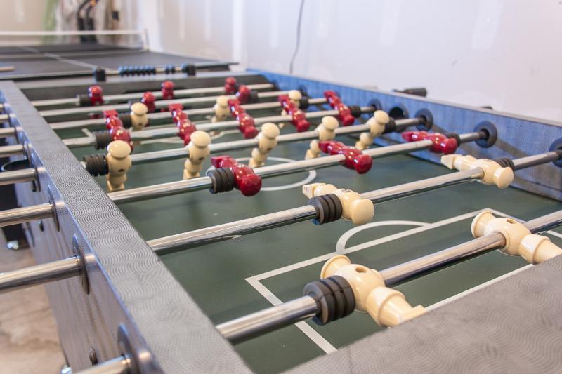 Tischfußball, Airhockey und Tischtennis Top