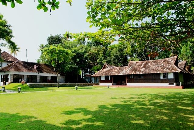 Shanthitheeram Heritage Resort Front View
