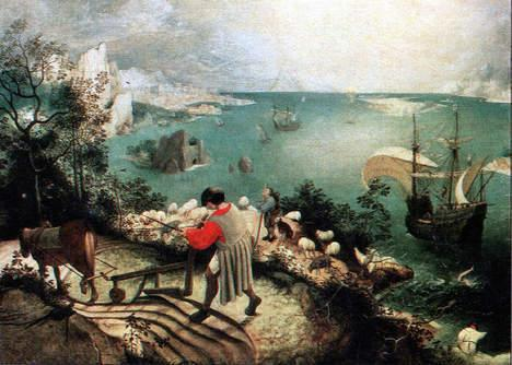 Landscape with the Fall of Icarus at the Royal Museums of Fine Arts in Brussels (30 min. drive).