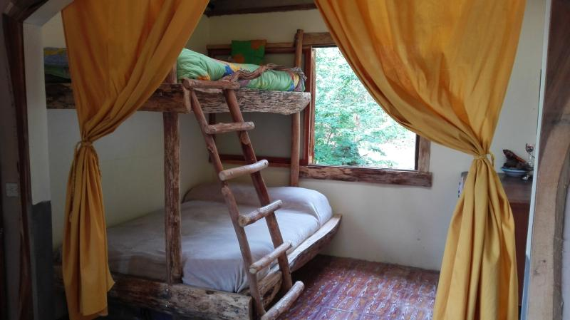 Children and adults alike LOVE this hand-crafted ultra-comfy bunk bed