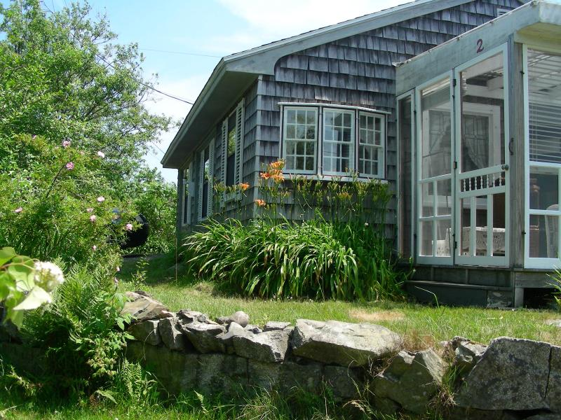 The Palace, a sweet cottage with a lot of charm, fabulous location! Forsythia, lilac, iris, lilies..