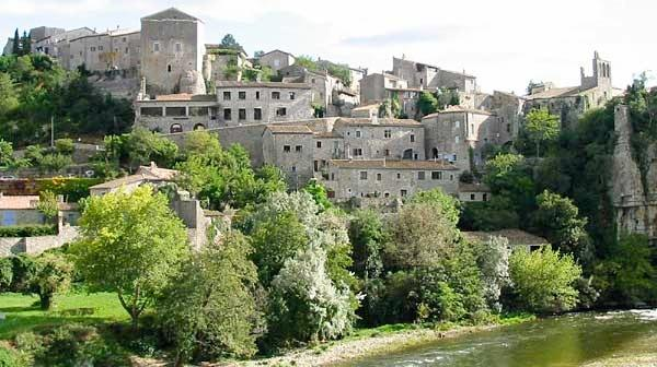 Balazuc and magnificent views of the Ardèche River