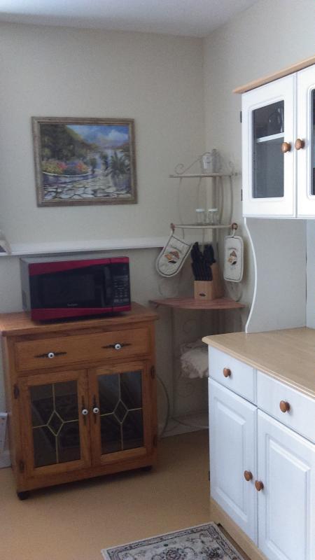 part of kitchen area