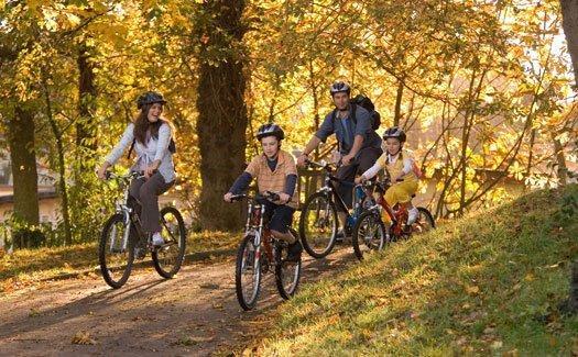 Família de ciclismo