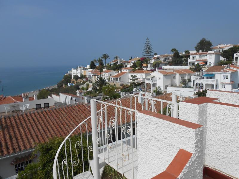 Stunning views over Mediterranean from Roof Terrace