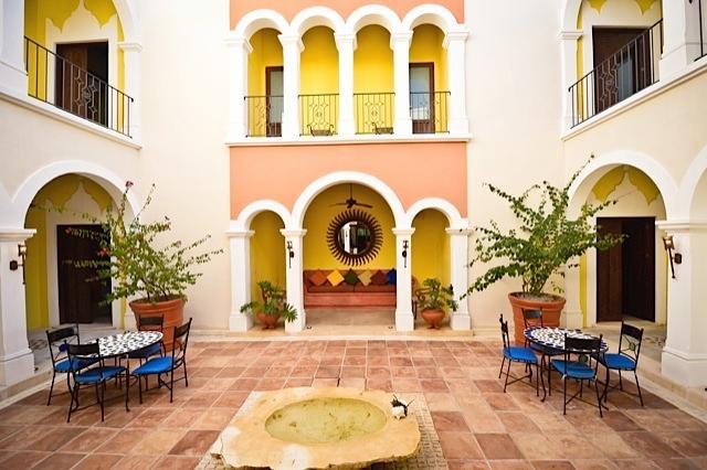 Riviera Maya Haciendas, Hacienda Magica - Central Courtyard Main Villa