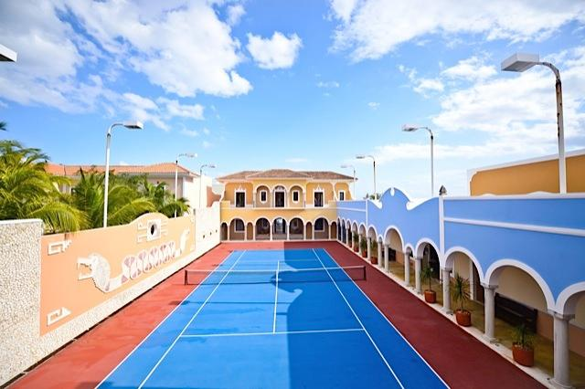 Riviera Maya Haciendas, Hacienda Magica - Private Full Size Tennis Court