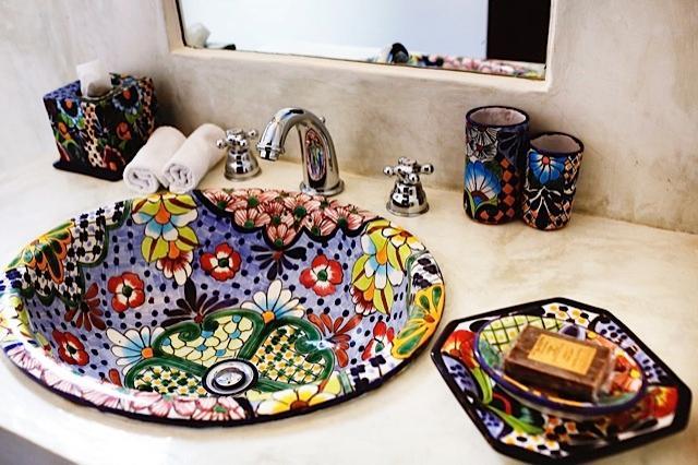 Riviera Maya Haciendas, Hacienda Magica - En suite Bathroom