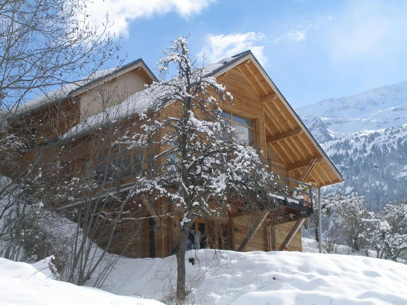 The Vaujany Mountain Lodge in winter