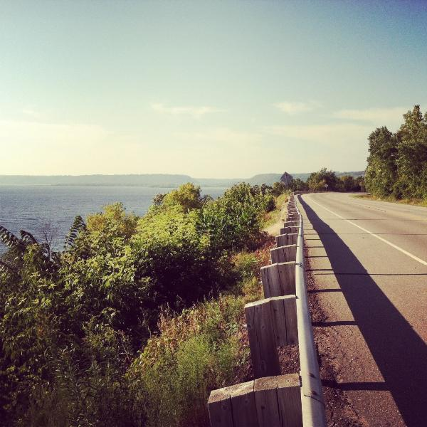 Another view of the GREAT RIVER ROAD America's scenic Byway Wisconsin Hwy 35