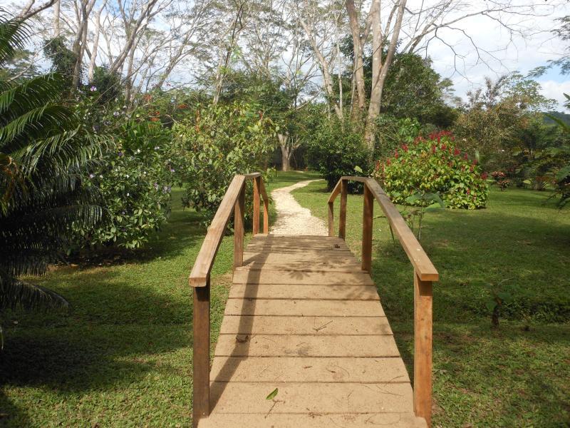 Bridge to paradise.
