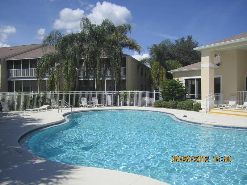 Sunlakes Resorts heated pool side view