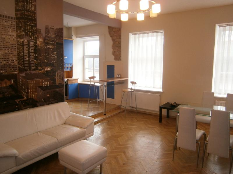 Vilnius Center Apartments fireplace, holiday rental in Paberze