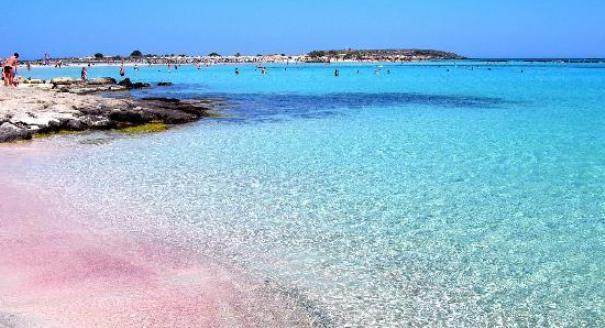 Elafonisi playa... Explorar Creta con su coche gratis!