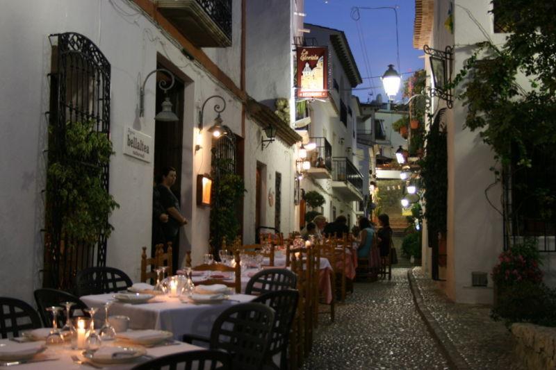zona restaurantes al lado