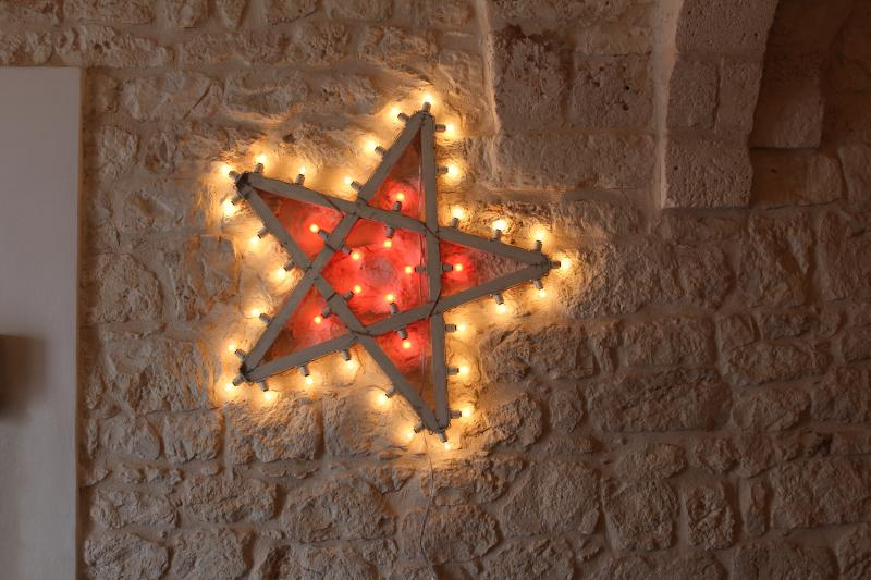 How much suggestive can be a star on a wall of stones?