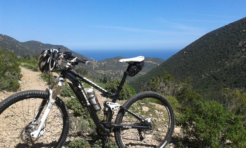Mountain bike sul monte Ferru